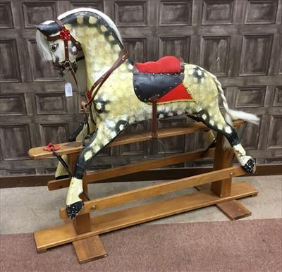 Lot 1324-A VINTAGE ROCKING HORSE