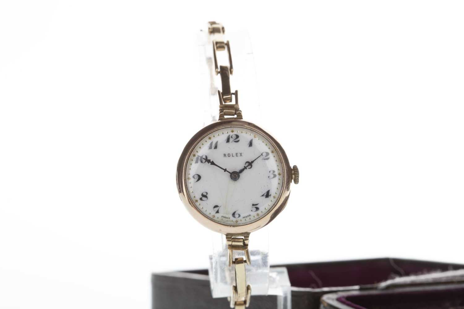 Lot 758-A LADY'S ROLEX EARLY TWENTIETH CENTURY WATCH