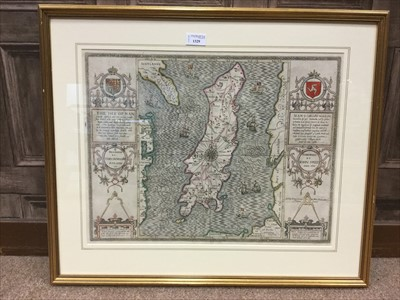 Lot 1329-MAP OF THE ISLE OF MAN, BY JOHN SPEED