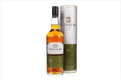 Lot 412-GLENALBA 22 YEARS OLD SHERRY FINISH