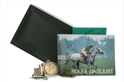 Lot 756-A GENTLEMAN'S ROLEX OYSTER PERPETUAL DATEJUST WATCH