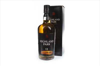 Lot 347-HIGHLAND PARK 12 YEARS OLD
