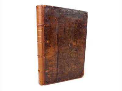 Lot 1333-A COMMENTARY ON ANTONINUS, BY W. BURTON