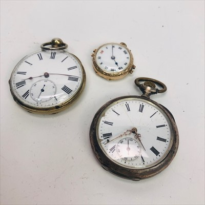 Lot 7-A LOT OF SILVER AND OTHER WATCHES