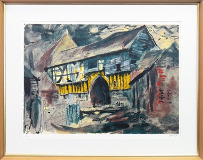 Lot 540-A LITHOGRAPH BY JOHN PIPER
