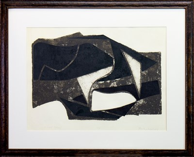 Lot 538-SHORE FORM, A SCREENPRINT BY PHILIP REEVES