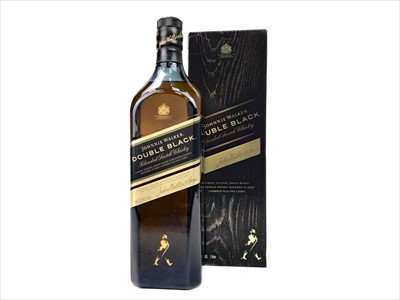 Lot 420-ONE LITRE OF JOHNNIE WALKER DOUBLE BLACK