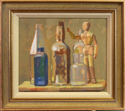 Lot 451-THREE OILS BY NORMAN SMITH