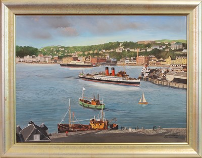 Lot 2-OBAN HARBOUR, AN OIL BY PETER ST CLAIR MERRIMAN