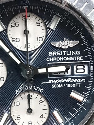 Lot 751-A GENTLEMAN'S BREITLING CHRONOMETRE WRIST WATCH