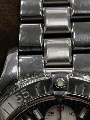 Lot 751-A GENTLEMAN'S BREITLING CHRONOMETRE WRIST WATCH