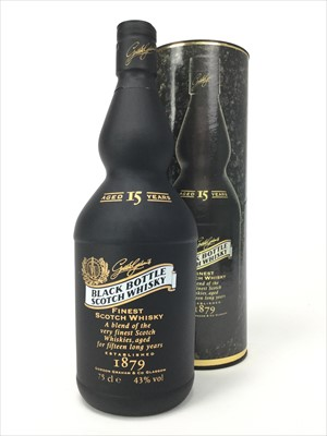 Lot 401-BLACK BOTTLE 15 YEARS OLD