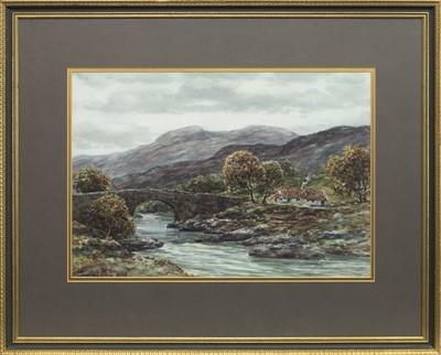 Lot 455-RIVER WHITEADDER, A WATERCOLOUR BY JOHN HAMILTON GLASS