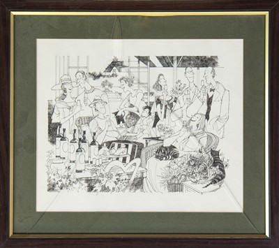 Lot 502-FOUR ILLUSTRATIONS BY BOB DEWAR