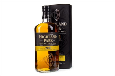 Lot 303-HIGHLAND PARK 2001 - ONE LITRE