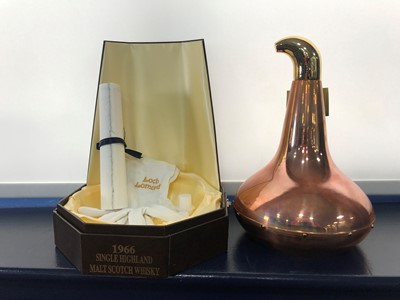 Lot 2-LOCH LOMOND 1966  POT STILL DECANTER NO. 2 AGED 32 YEARS