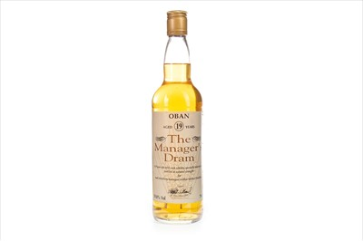 Lot 18-OBAN MANAGERS DRAM AGED 19 YEARS