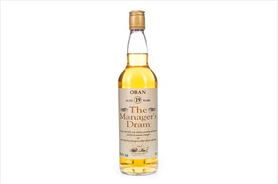 Lot 24-OBAN MANAGERS DRAM AGED 19 YEARS