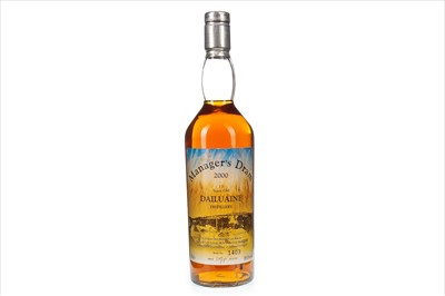 Lot 10-DAILUAINE MANAGERS DRAM AGED 17 YEARS
