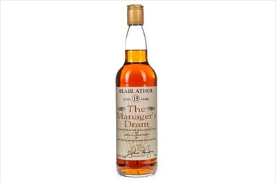 Lot 5-BLAIR ATHOL MANAGERS DRAM AGED 15 YEARS