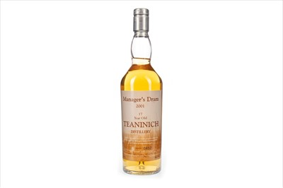 Lot 25-TEANINICH THE MANAGERS DRAM AGED 17 YEARS