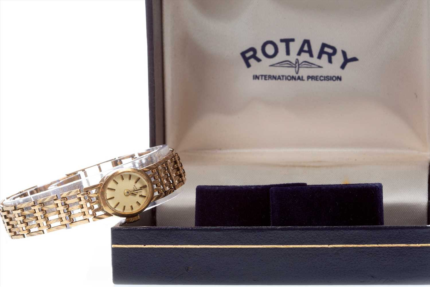 Lot 757-A LADY'S GOLD ROTARY WATCH