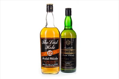 Lot 403-THE LAST HOLE AGED 12 YEARS AND TURNBULL'S TEVIOTDALE