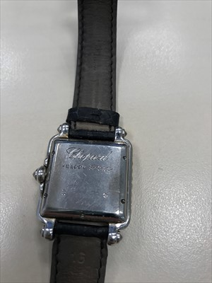 Lot 759-A LADY'S CHOPARD DIAMOND WATCH