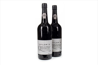 Lot 1015-TWO BOTTLES OF TAYLOR'S 1988 QUINTA DE VARGELLAS