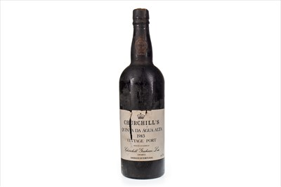 Lot 1018-CHURCHILL'S 1983 QUINTA DA AGUA ALTA