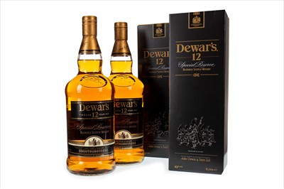 Lot 404-TWO LITRES OF DEWAR'S SPECIAL RESERVE 12 YEARS OLD