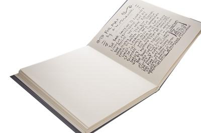 Lot 528-FOR MAX, A BOOK OF 25 LINOCUTS, BY ADRIAN WISZNIEWSKI