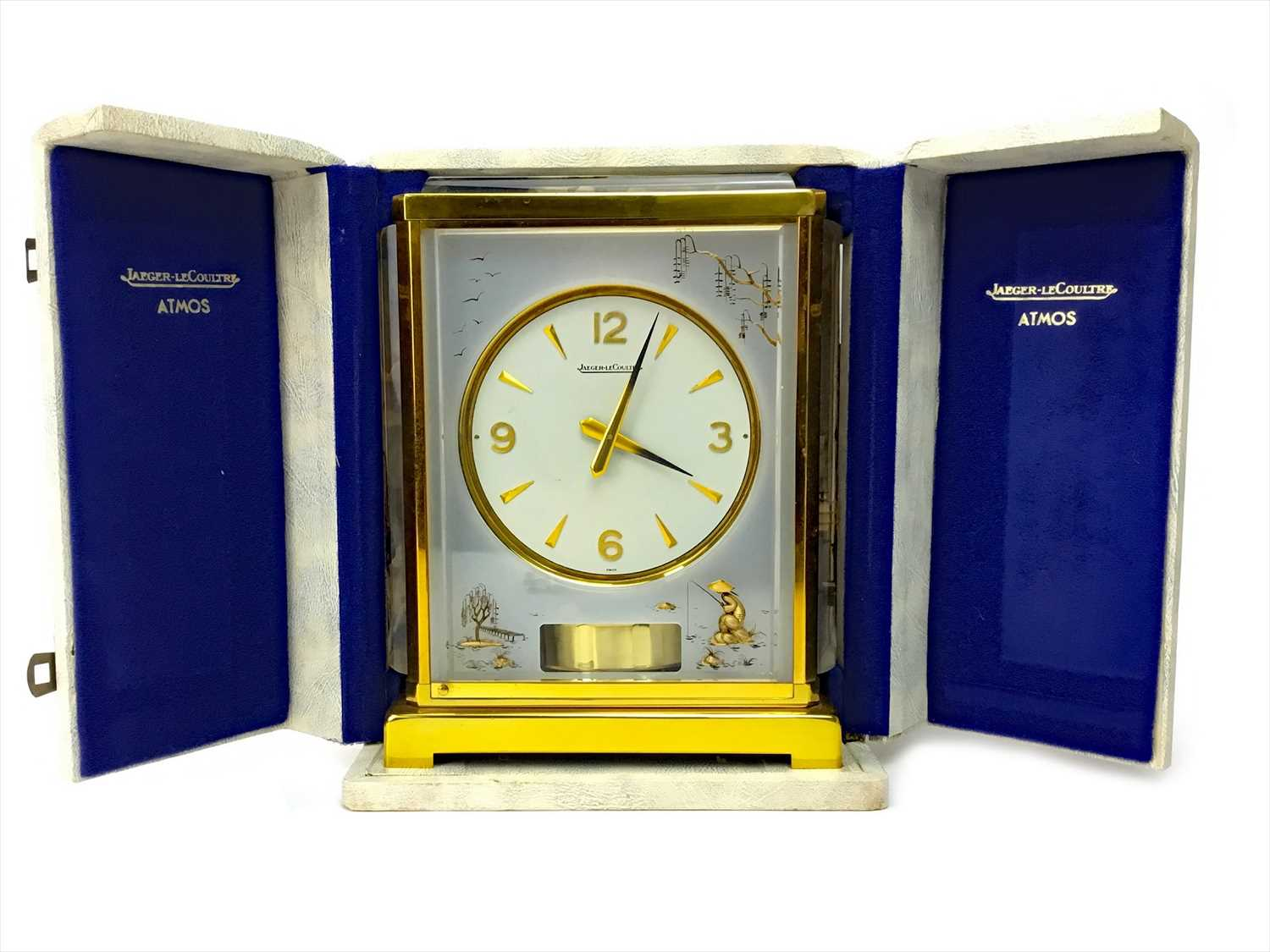 Lot 1179-A JAEGER LE COULTRE ATMOS CLOCK