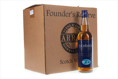 Lot 405-TWELVE BOTTLES OF LOCHRANZA FOUNDER'S RESERVE (12)
