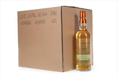 Lot 318-TWELVE BOTTLES OF ARRAN FOUNDER'S RESERVE