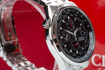 Lot 770-A CITIZEN RED ARROWS ECO-DRIVE WRIST WATCH