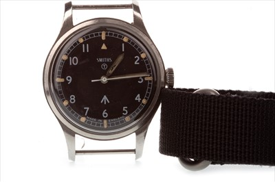 Lot 772-A GENTLEMAN'S SMITHS MILITARY ISSUE STEEL WATCH