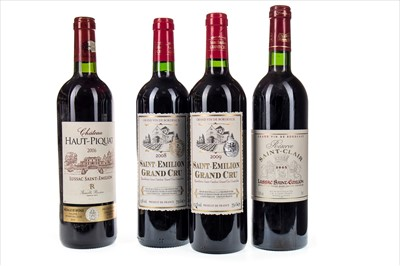 Lot 1026 - FOUR BOTTLES OF ST EMILLION