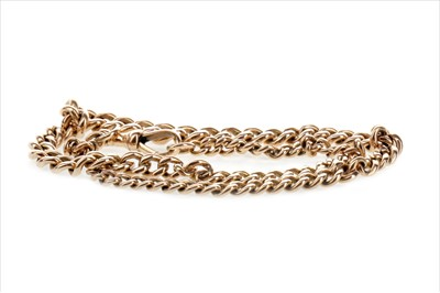 Lot 801-A GOLD ALBERT CHAIN