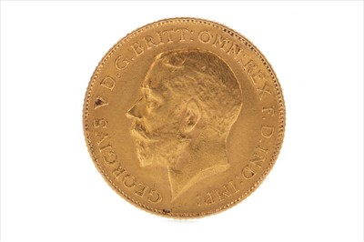 Lot 5-A GOLD HALF SOVEREIGN, 1912