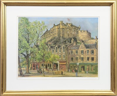 Lot 1-THE EDINBURGH COLLECTION, A SET OF PRINTS BY ANTHONY ARMSTRONG