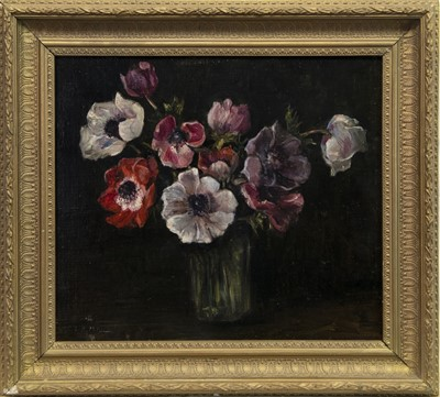 Lot 5-FLORAL STILL LIFE, AN OIL BY EMILY MURRAY PATERSON