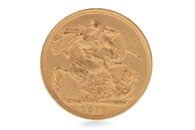 Lot 3-A GOLD SOVEREIGN, 1912
