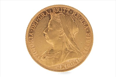 Lot 4-A GOLD SOVEREIGN, 1901