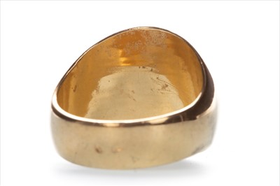 Lot 8-A REPLICA GOLD COIN RING