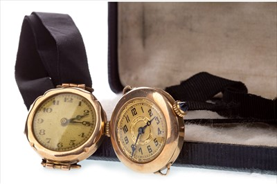 Lot 779-FOUR LADY'S EARLY 20TH CENTURY WRIST WATCHES