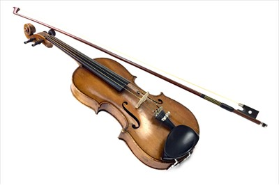 Lot 1186-A MID-19TH CENTURY SCOTTISH 3/4 LENGTH VIOLIN