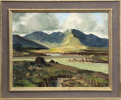 Lot 3-IRISH LANDSCAPE, AN OIL BY MAURICE CANNING WILKS