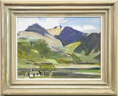 Lot 1-BLAVEN SKYE, AN OIL BY JOHN GUTHRIE SPENCE SMITH