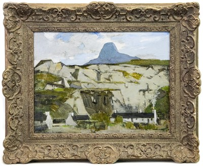 Lot 2-BALLACHULISH QUARRY, AN OIL BY JOHN GUTHRIE SPENCE SMITH